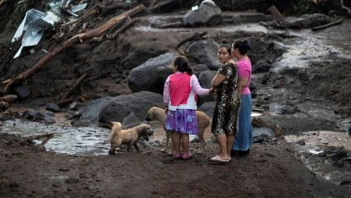 Photo of Six Dead, 35 Missing In A Mudslide In El Salvador.