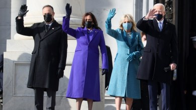 Photo of Biden, Harris, Other VIPs Arrive Capitol For Inauguration.