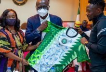 Photo of AFCON: Sanwo-Olu Gifts Olympic.