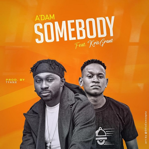 Somebody By A'dam Ft. Kris Grant