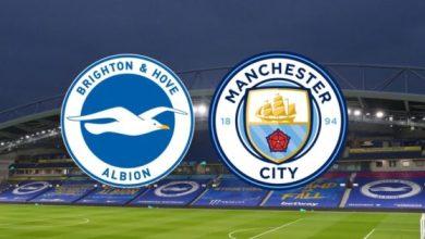 Photo of TODAY'S MATCH: Brighton & Hove Albion Vs Manchester City 7:00pm