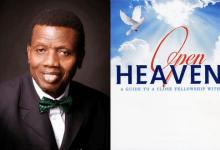Photo of OPEN HEAVEN 17 JUNE 2021 THURSDAY: PRAYER WORKS!