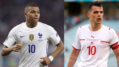 Photo of TODAY'S MATCH: France VS Switzerland 8:00PM