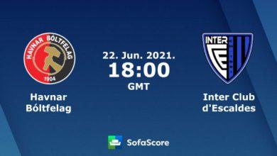 Photo of TODAY'S MATCH: HB VS Inter Club D'escaldes 7:00PM