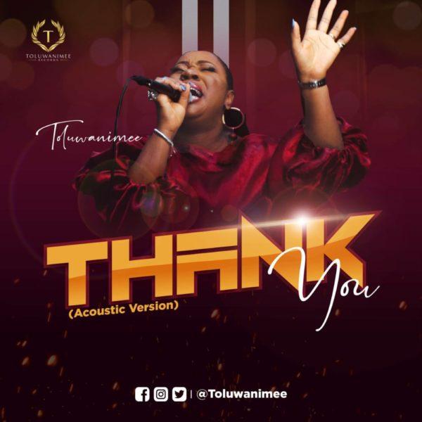 Thank You By Toluwanimee