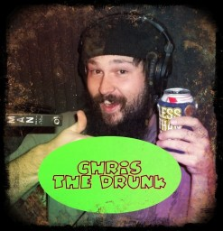 Chris Fox, lead vocals and guitar for Boss' Daughter