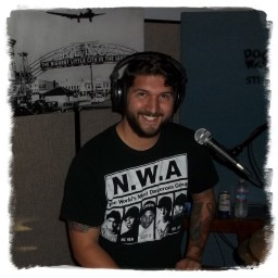 Josh Lopez, wearing an NWA t-shirt