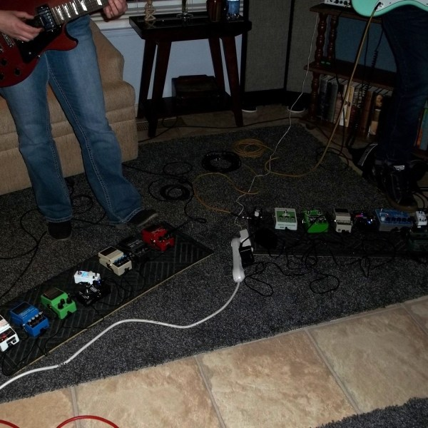 The pedalboards of Wizard Colors