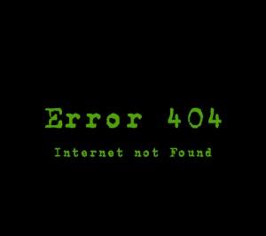 Internet Not Found