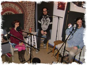 Monica Reed, Nick Ramirez and Chas Dawes of Hella A Capella on the Worst Little Podcast