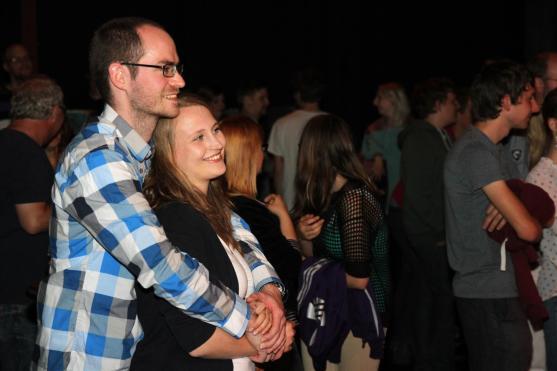 Auch dem Publikum gefiel die Veranstaltung. Foto: Björn Othlinghaus