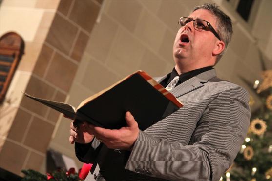 Chorleiter und Sänger Hanno Kreft. (Foto: Björn Othlinghaus)