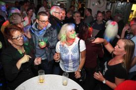 Party mit Lorenz Büffel. (Foto: Björn Othlinghaus)