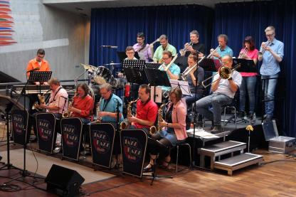 Jazz Fazz Big Band. (Foto: Björn Othlinghaus)