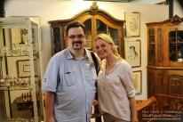 Björn mit Susanne Steiger. (Foto: Arno Bück, MindFlash MEDIADESIGN)