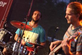 Robert Arnswald (Schlagzeug). (Foto: Björn Othlinghaus)