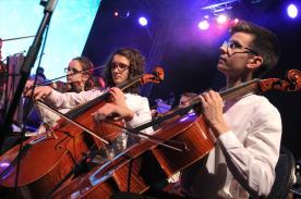 Jugendsinfonieorchester, Jugendchor der Musikschule und Lüdenscheider Kammerorchester. (Foto: Björn Othlinghaus)