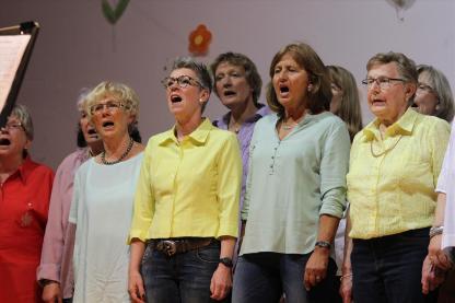 Frauenchor Cantabile. (Foto: Björn Othlinghaus)