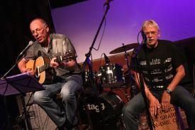 """Heinz Richter und Klaus-Peter """"Pico"""" Niehaus. (Foto: Björn Othlinghaus)"""