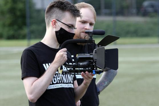Videocrew. (Foto: Björn Othlinghaus)