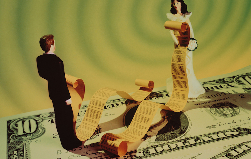 What steps should you take to help you navigate your financial life through divorce?
