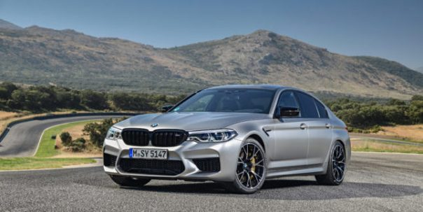 BMW M5 Competition. Photo courtesy of BMW Group
