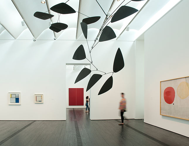Glimpses of the Menil Collection. Photo by Don Glenzer