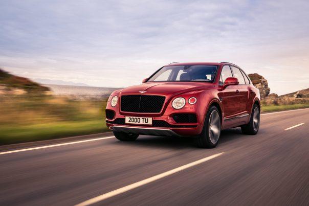 Bentley Bentayga V-8