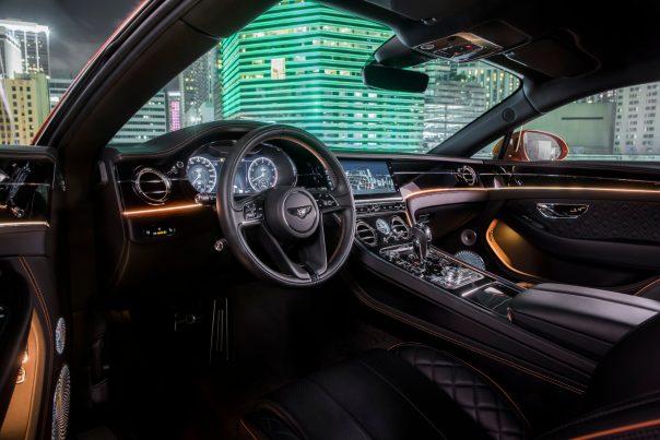 Interior of the Bentley Continental V-8