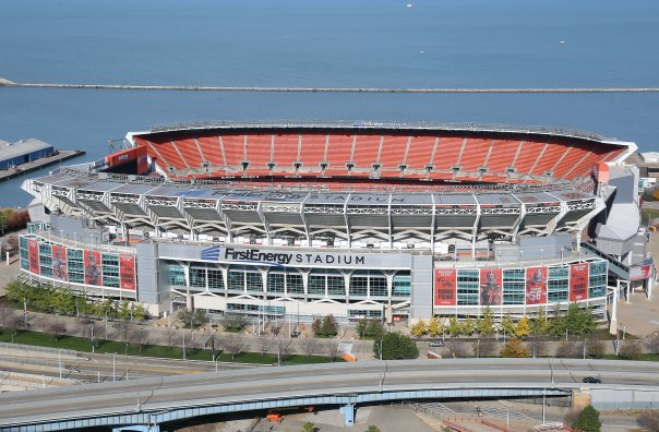 FirstEnergy Stadium in Cleveland
