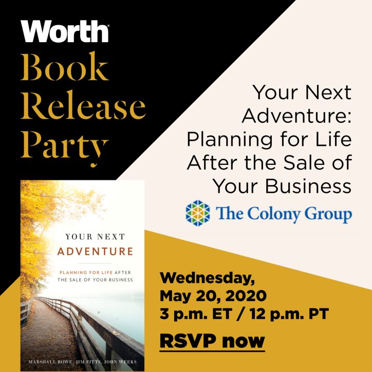 Worth Book Club: Your Next Adventure Book Release Party