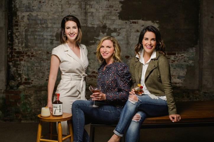 Lexie Larsen, Abbey Ferguson and Lauren Chitwood,