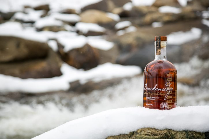 Breckenridge is as at home in the mountains as it is in your home bar. Photo courtesy of Breckenridge
