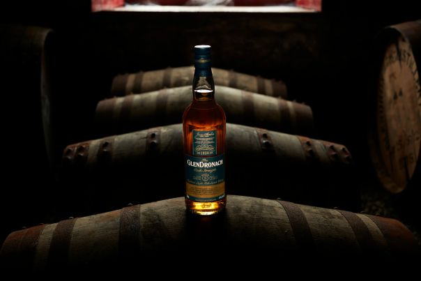 GlenDronach is aged in sherry casks giving it a full bodied, rich flavoring. Photo courtesy of GlenDronach