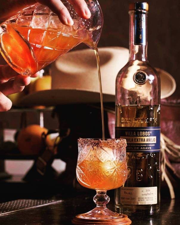 Villa Lobos Extra Añejo is sweet, bold and can be appreciated either on ice with a squeeze of lime or as a base for your favorite margarita. Photo courtesy of Villa Lobos