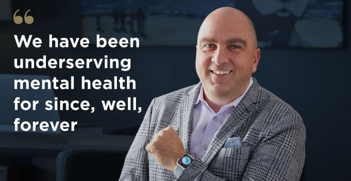 Grady Hannah runs NightWare, the first FDA-cleared digital therapeutic for those suffering from nightmare disorder, an affliction that oftentimes stems from those suffering from PTSD. Photo courtesy of NightWare