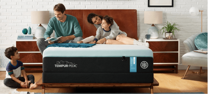 The Tempur-Luxe breeze° mattress looks to address 'hot sleepers.' Photo courtesy of Tempur-Pedic
