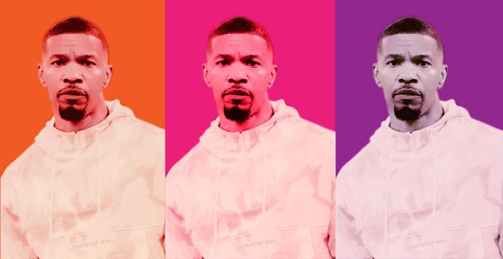 Actor, singer, empresario: Jamie Foxx is seemingly everywhere these days, and he's enjoying every minute of his hard-fought success. Photo by Taylor Chien