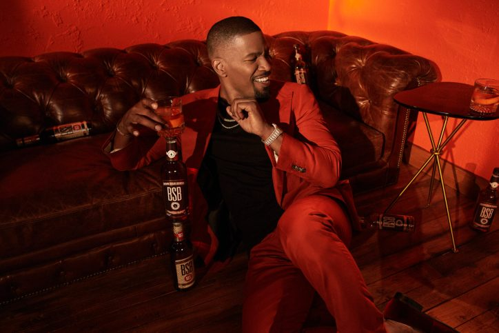 Jamie Foxx opens up to Worth columnist Arick Wierson about life, celebrity and his new bourbon. Photo by Nicholas Maggio