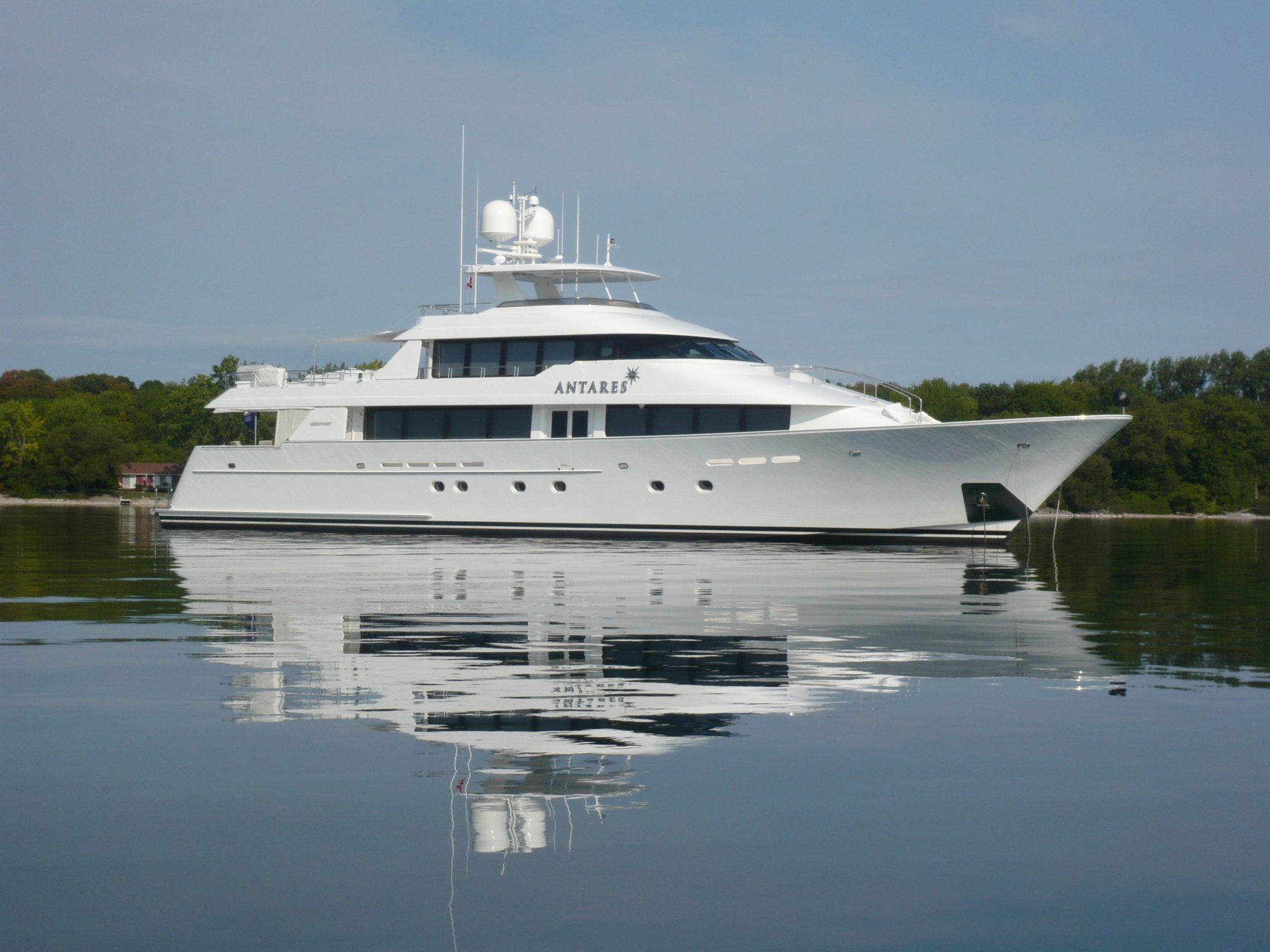 130 Westport Yacht ENDEAVOUR Offered For Sale By Worth