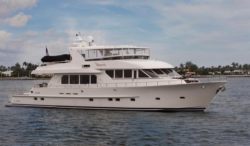 SOLD RHAPSODY 92 2804m Paragon Motor Yachts 2006