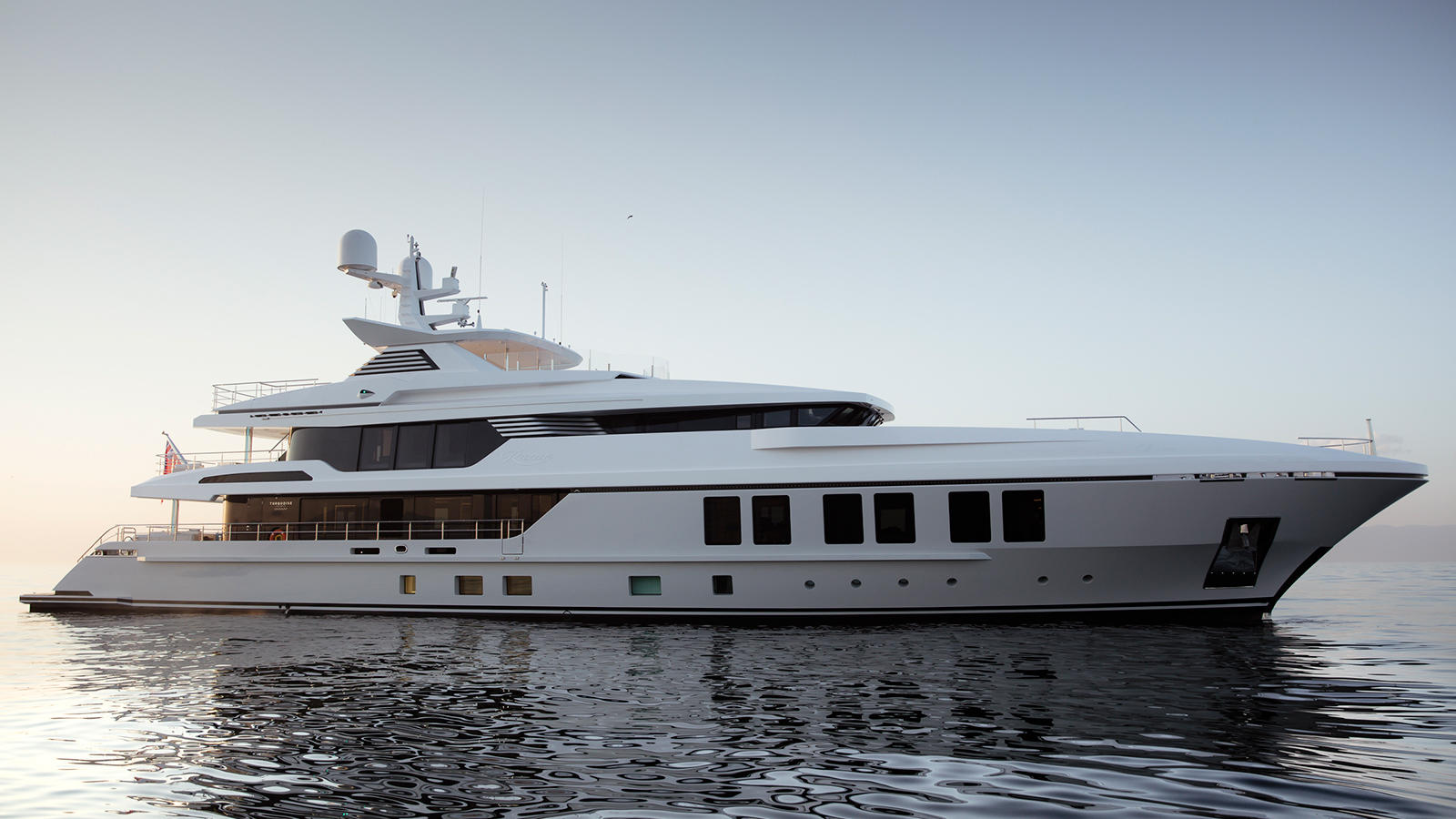 Review Of 47m Turquoise Yacht RAZAN At Cannes Yachting