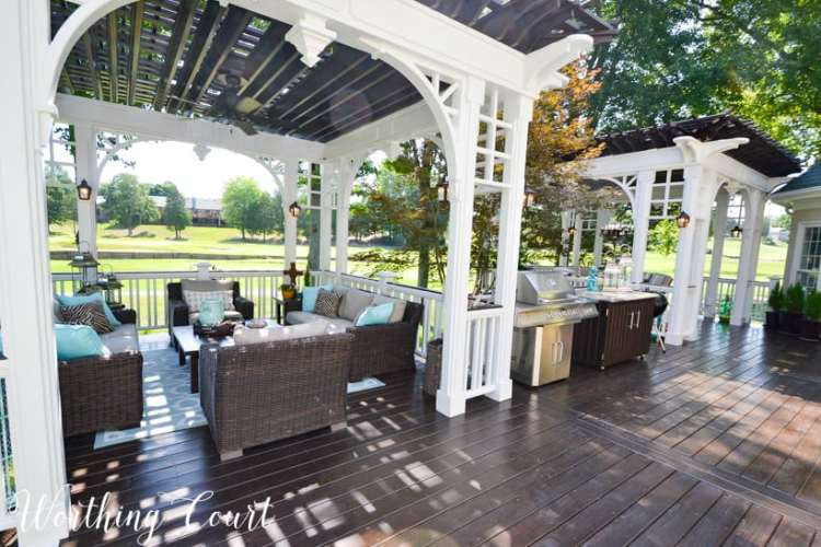 Deck Decorating Ideas Stunning Deck Decor Inspo Worthing Court