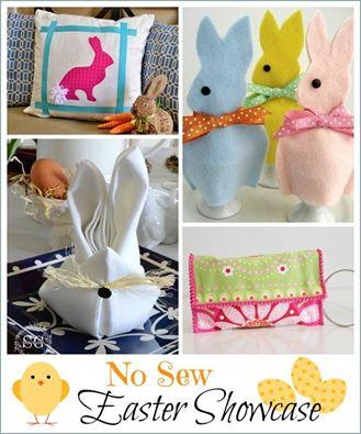 No-sew Easter Showcase :: WorthingCourtBlog.com