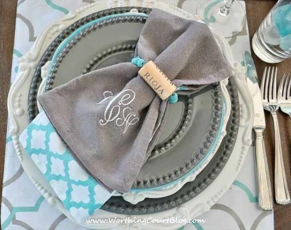 How to make wine cork napkins rings and bracelets    WorthingCourtBlog.com