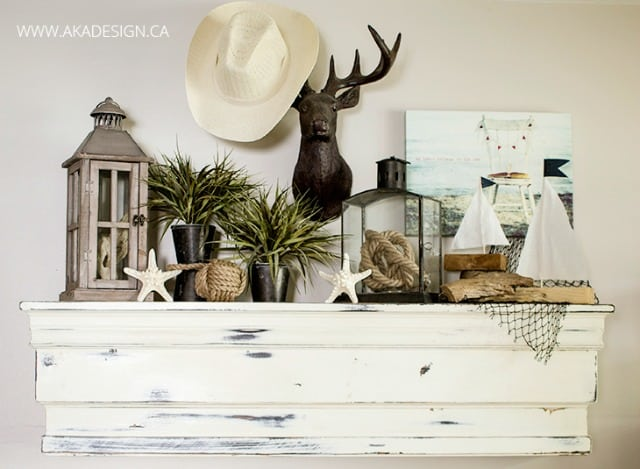 Coastal Summer Mantel
