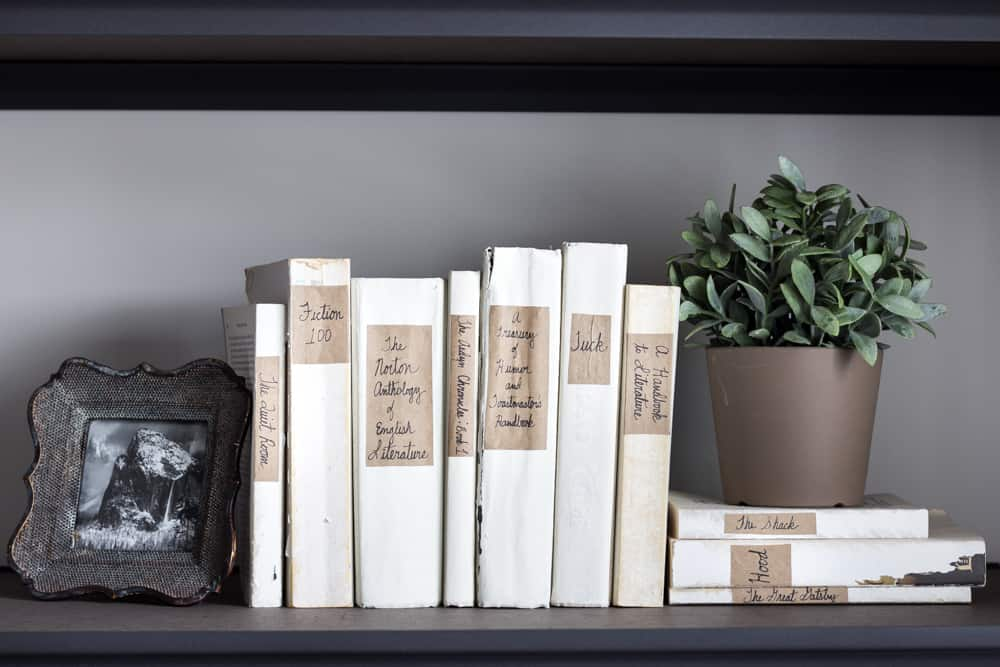 DIY Restoration Hardware French Mute Books