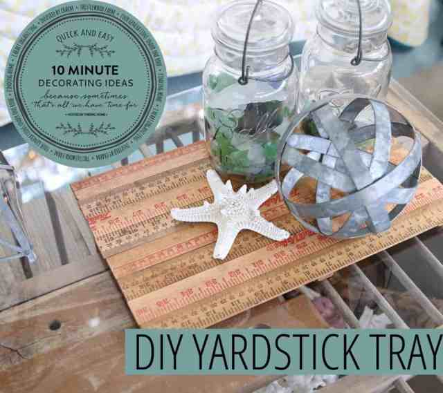 Yardstick Tray