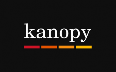 The Kanopy logo is simplistic