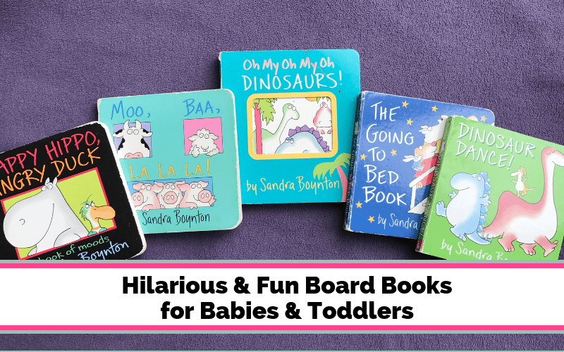 Best Board Books for Babies & Toddlers
